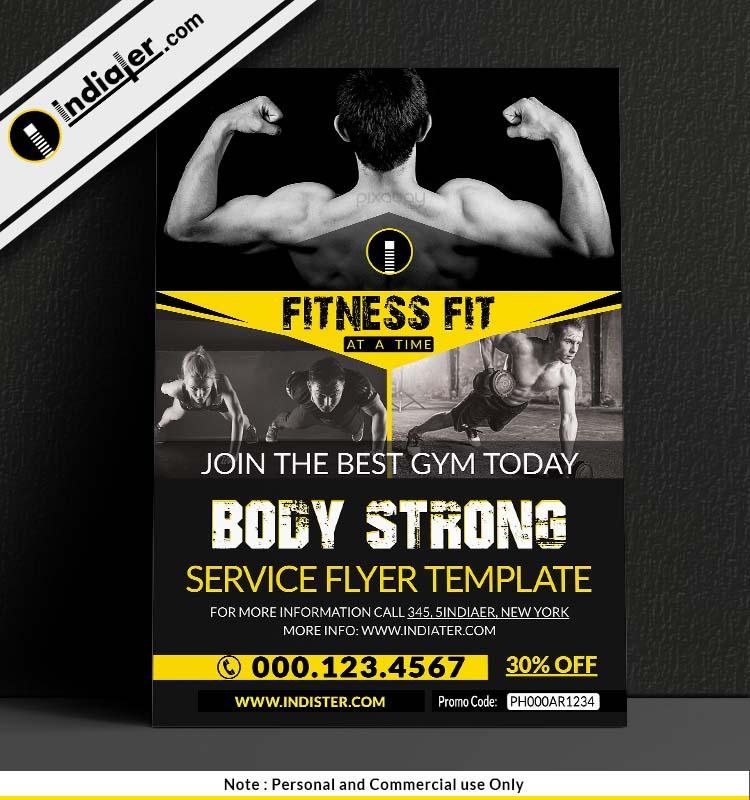 free-gym-bodybuilding-flyer-design-psd
