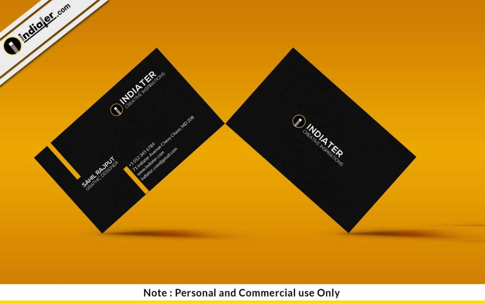 Free legal black business card psd template indiater free legal black business card psd template reheart Choice Image
