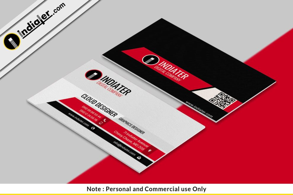 Free modern business cards psd download indiater free modern business cards psd download reheart Images