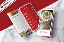 free-restaurant-menu-bi-fold-brochure-psd