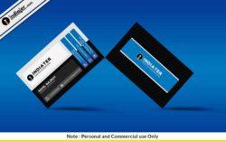 free-standard-blue-business-card-psd-template