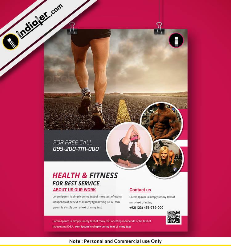 health-fitness-flyer-template-psd-design