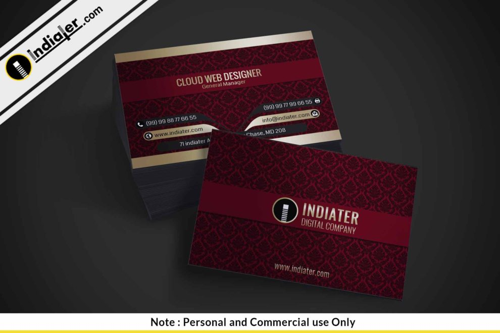 Vintage style business card psd templates indiater vintage style business card psd templates friedricerecipe Choice Image