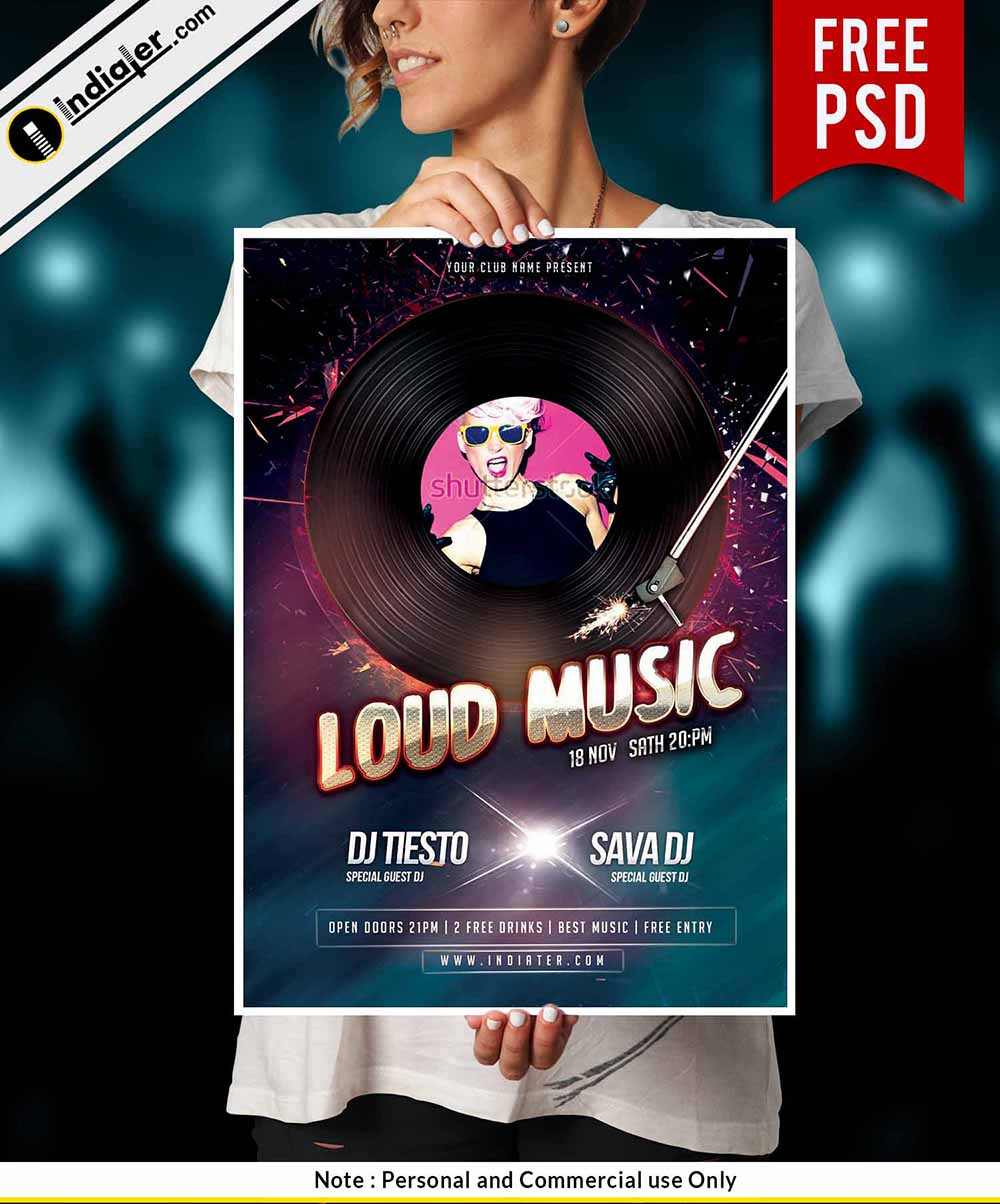 free-urban-sound-flyer-psd-template