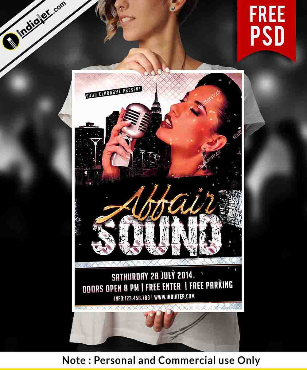 free-affair-sound-flyer-psd-template