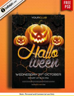 free-halloween-party-poster-design-ideas-template