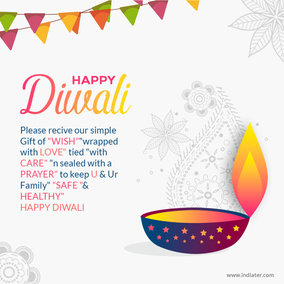Free Happy Diwali Wishes Greeting Card With Best Quotes Indiater