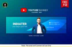 free-vlogger-youtube-channel-banner-psd-template