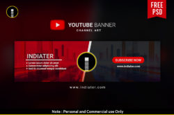 free-youtube-channel-banner-psd-template