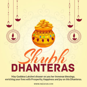 Shubh dhanteras wishes greeting card with best quote indiater shubh dhanteras wishes greeting card with best quote m4hsunfo