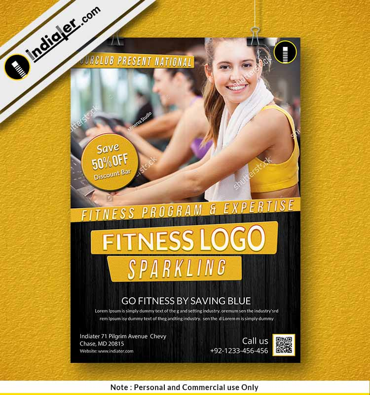 free-fitness-gym-sports-business-flyer-psd-template