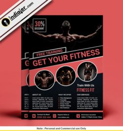 free-fitness-gym-sports-psd-flyer-template