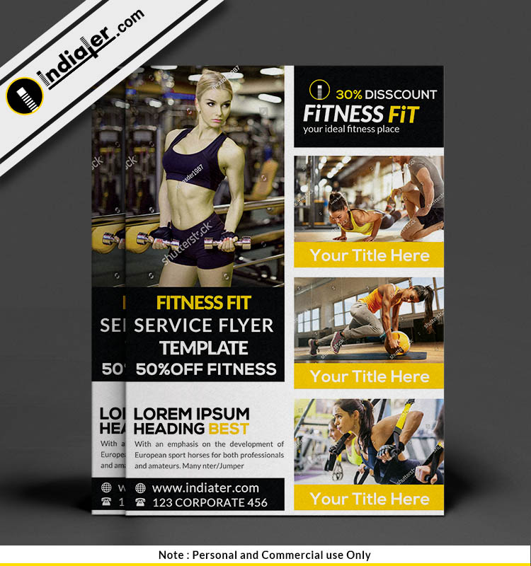 free-fitness-services-50-discount-flyer-psd-template