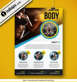 free-fitness-studio-flyer-psd-template