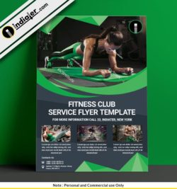 free-gym-advertisement-posters-psd-template