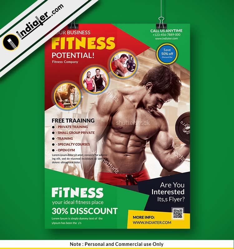 free-gym-flyer-psd-design-ideas