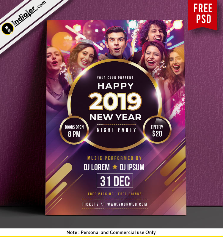 free-happy-new-year-night-party-poster-psd