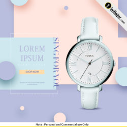 free-instagram-ad-womens-watch-banners-psd