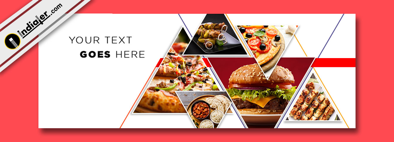 free food facebook cover psd template