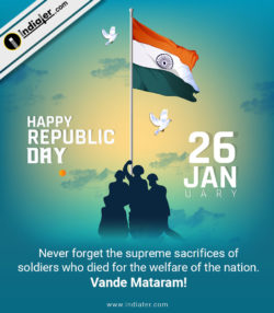 Happy Republic day Wishes Greetings Image – URI The Surgical Strike