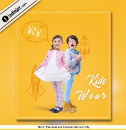 kid-fashion-free psd template