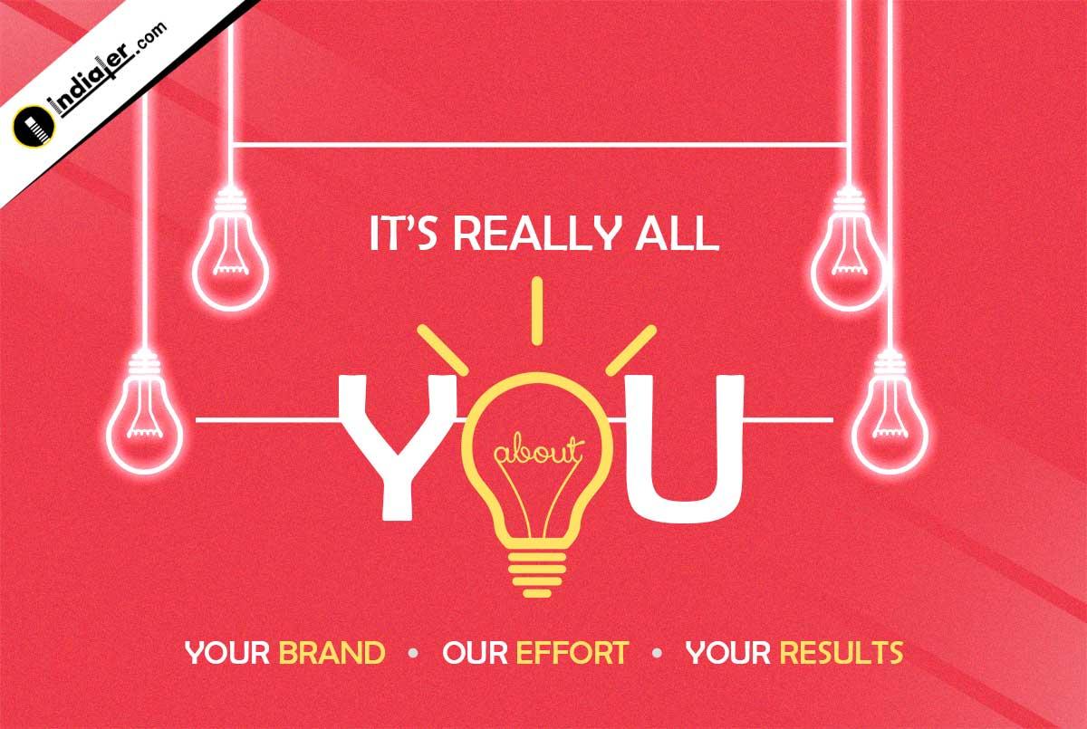 Infographics Branding Free PSD Template