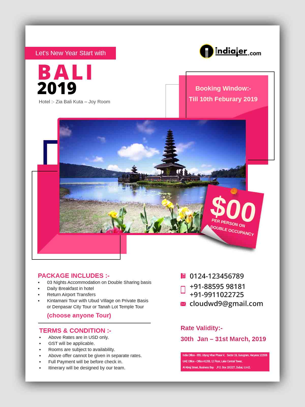 let-new-year-start-with-bali-travel-flyer-psd-template