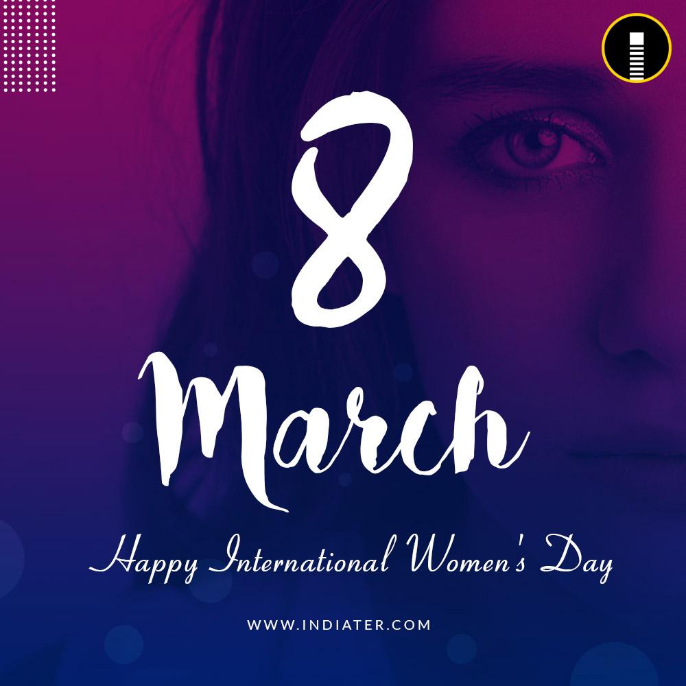 Creative's International Women's Day Banner design