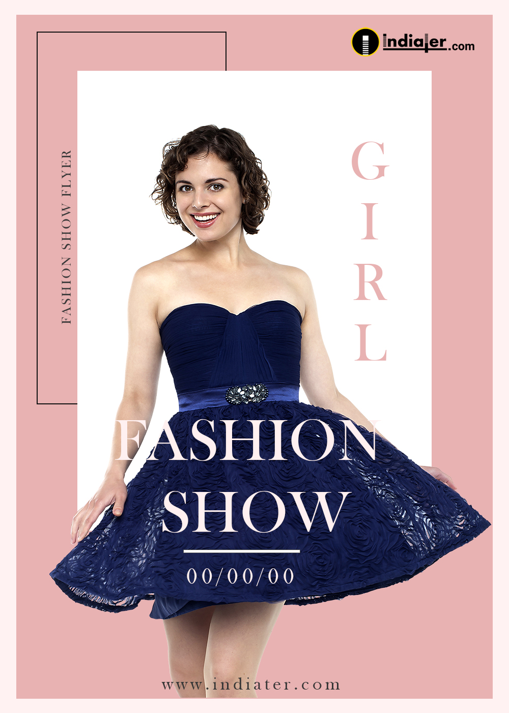 Fashion show Week Flyer Template Design