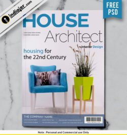 free-house-architect-magazine-cover-design-psd