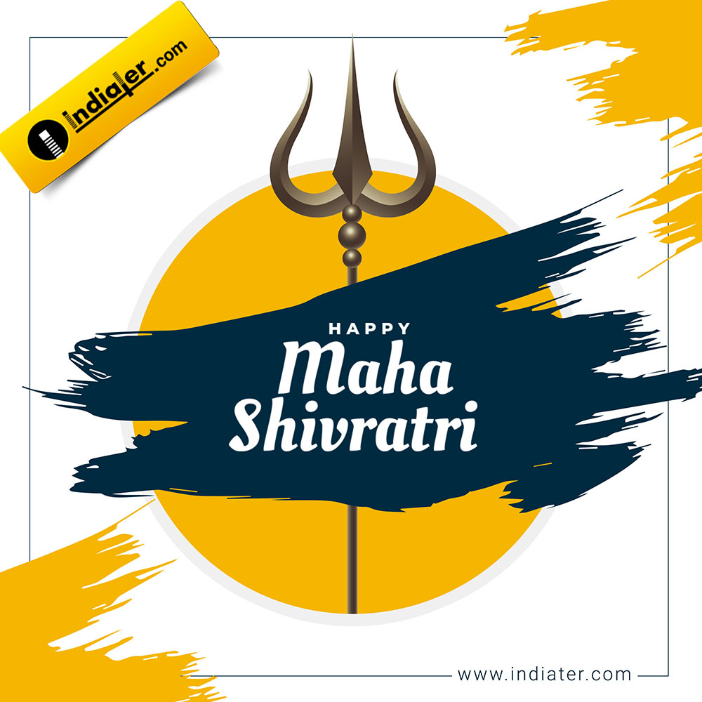 Free MahaShivratri social media wishes banner