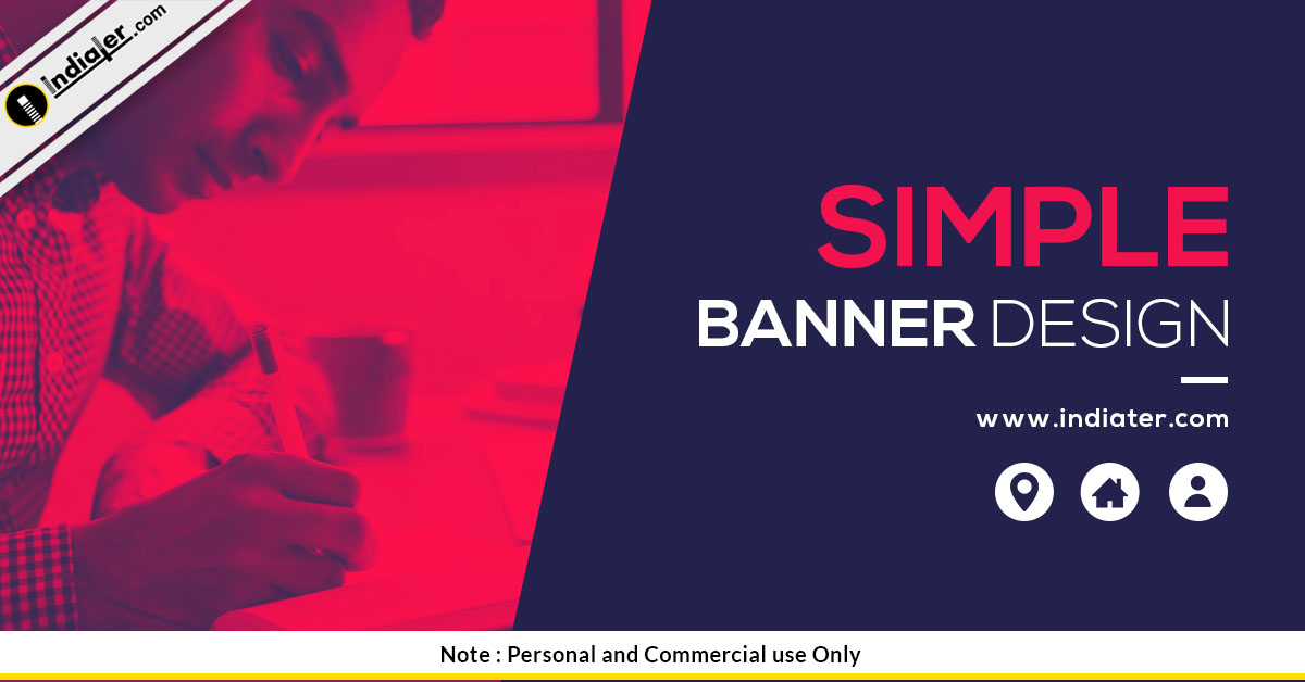 free-simple-banner-design-psd-template
