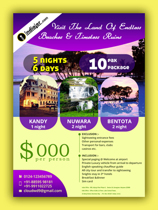 free-srilanka-travel-flyer-psd-template