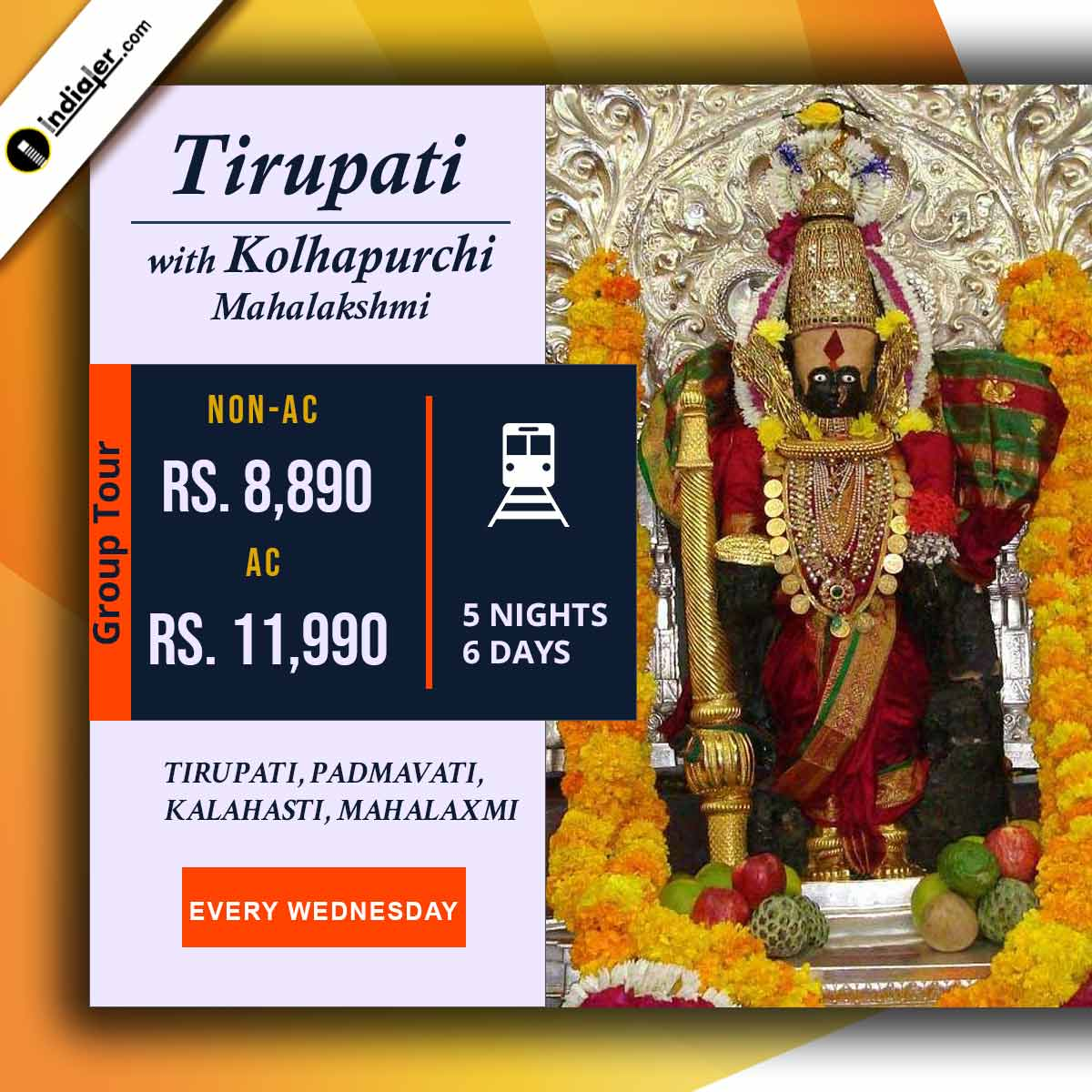 tirupati-with-kolhapurchi-mahalaxmi-travel-banner-design