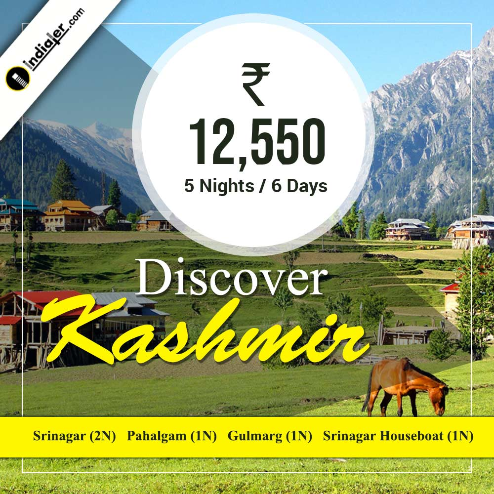 Kashmir discover tours and travels packages banners