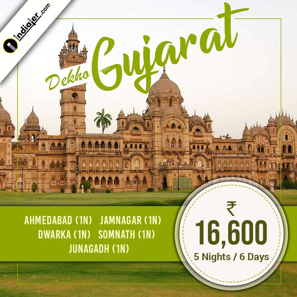Gujarat tour package creative travel business banner
