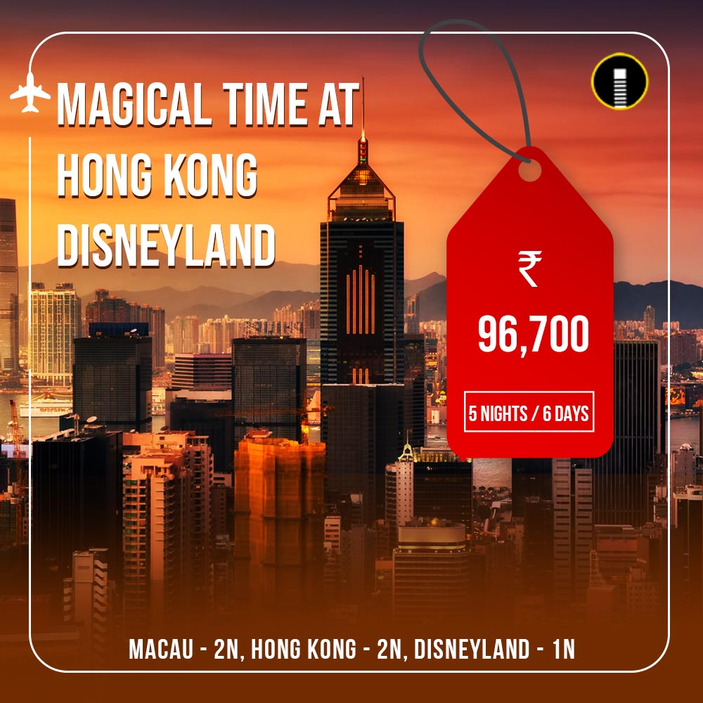 Hong Kong Disneyland Travel Packages Banners