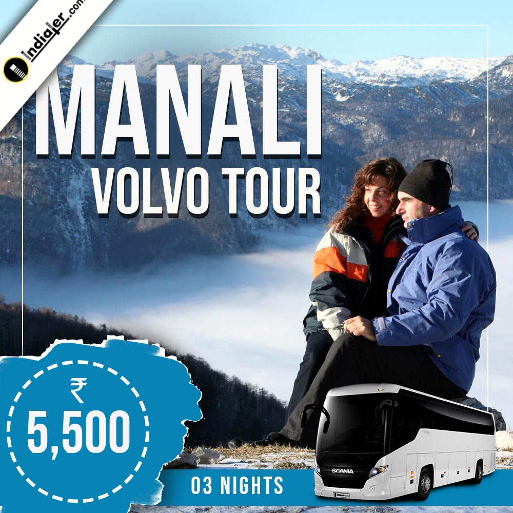 Manali tour packages travel promotion banner design