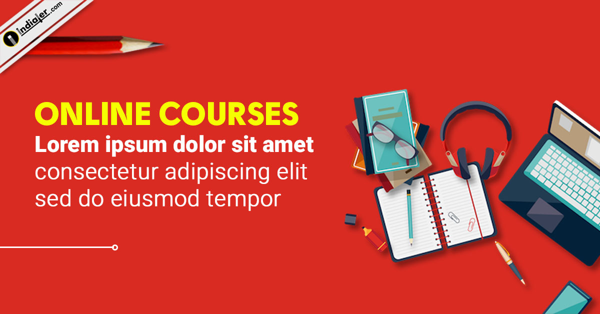 Online Free Course Education Banner Design Templates Indiater