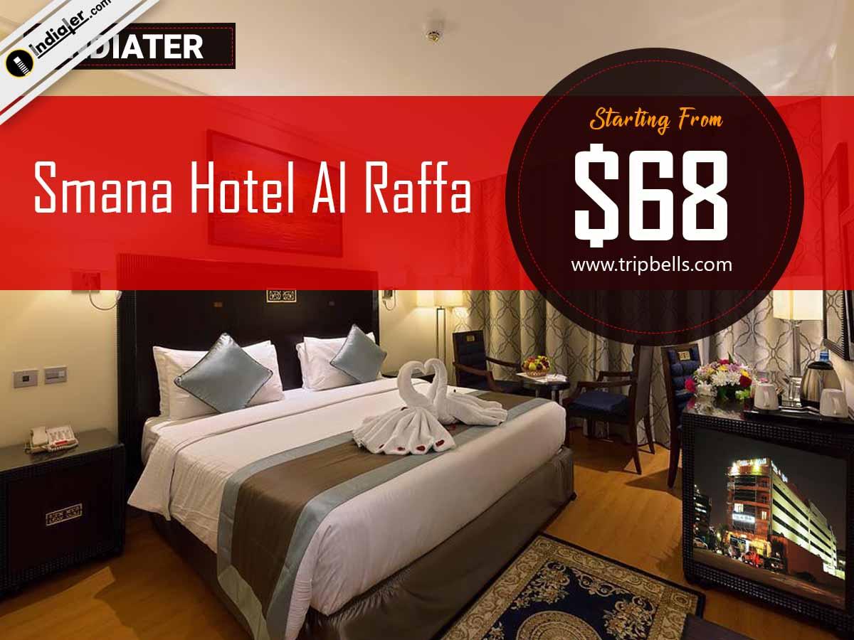 Smana Hotel Al Raffa Holidays promotion Banner