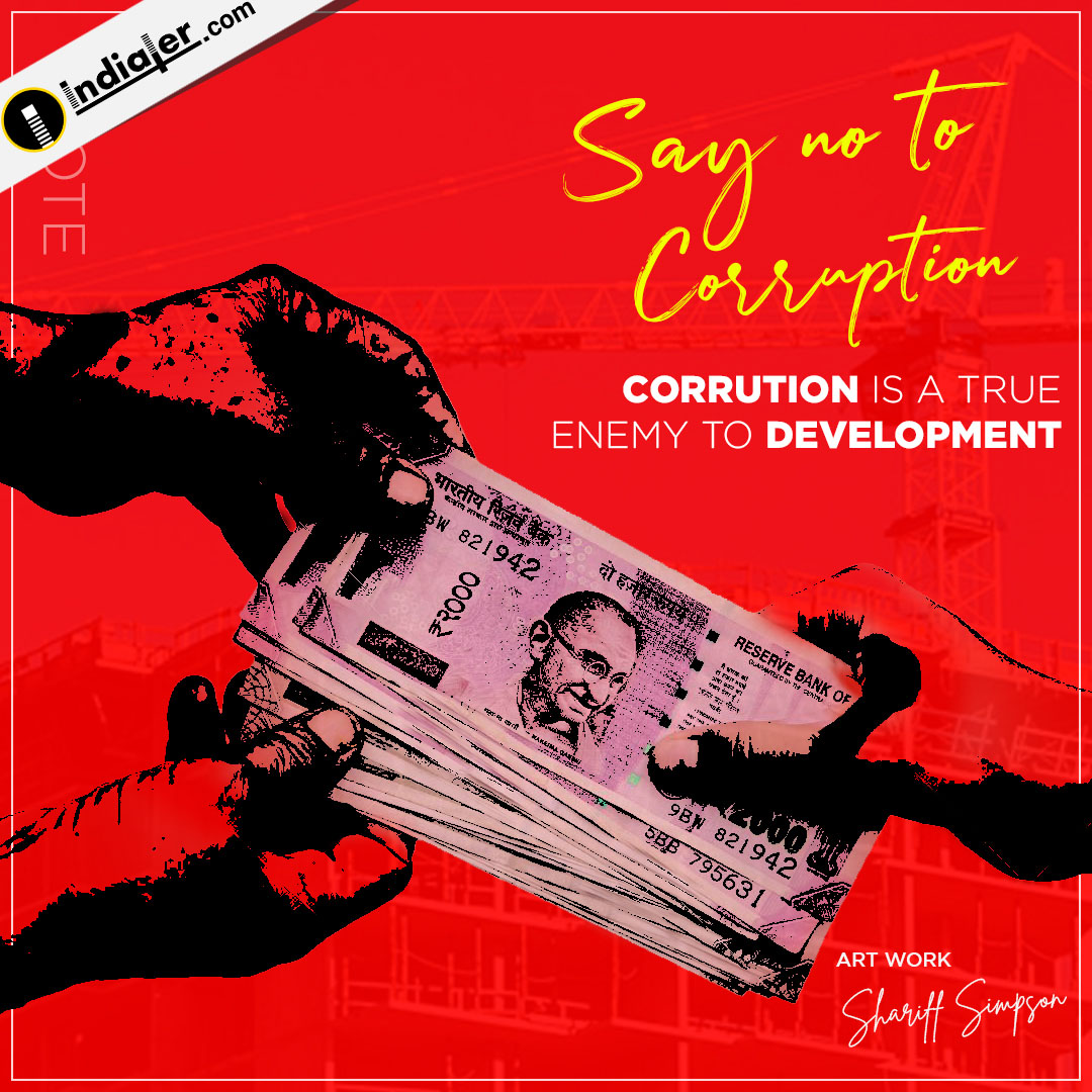 Say no to Corruption Elections 2019 banner for Social Media