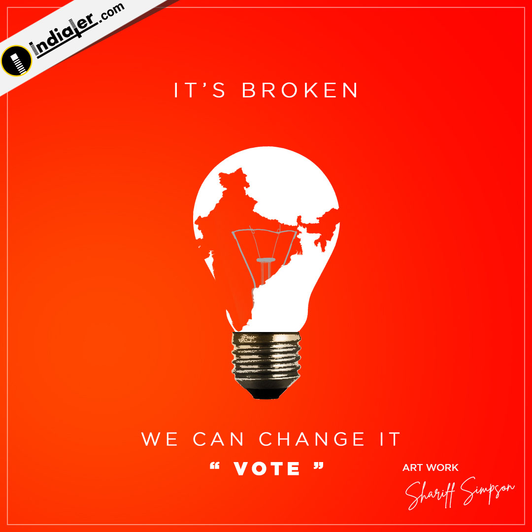 We can change it - vote Elections Social Media banner