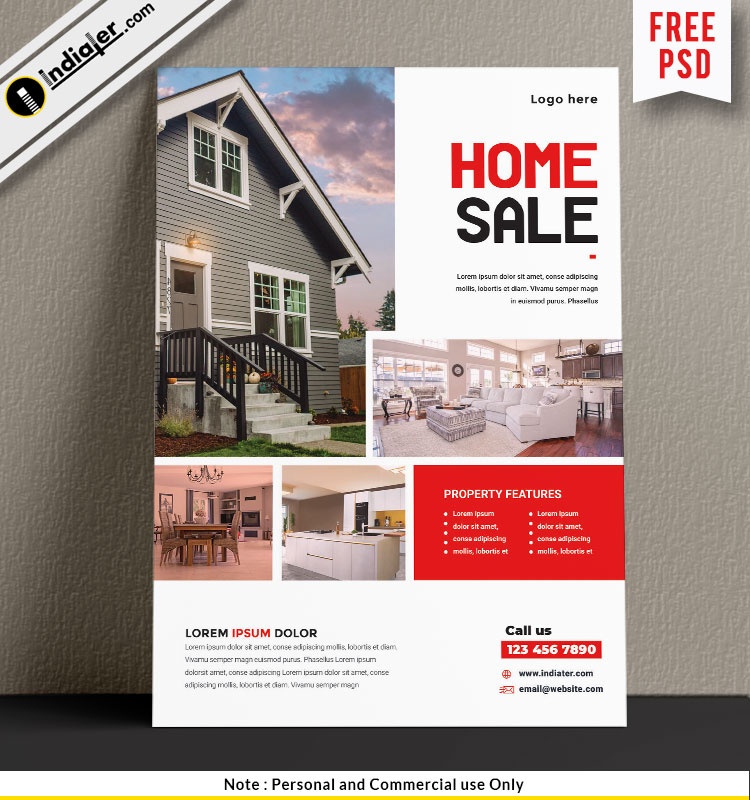 free-real-estate-a4-flyer-psd-templatefree-real-estate-a4-flyer-psd-template