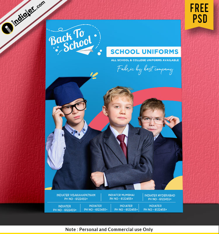 free-school-and-college-uniforms-sale-promotion-poster-template