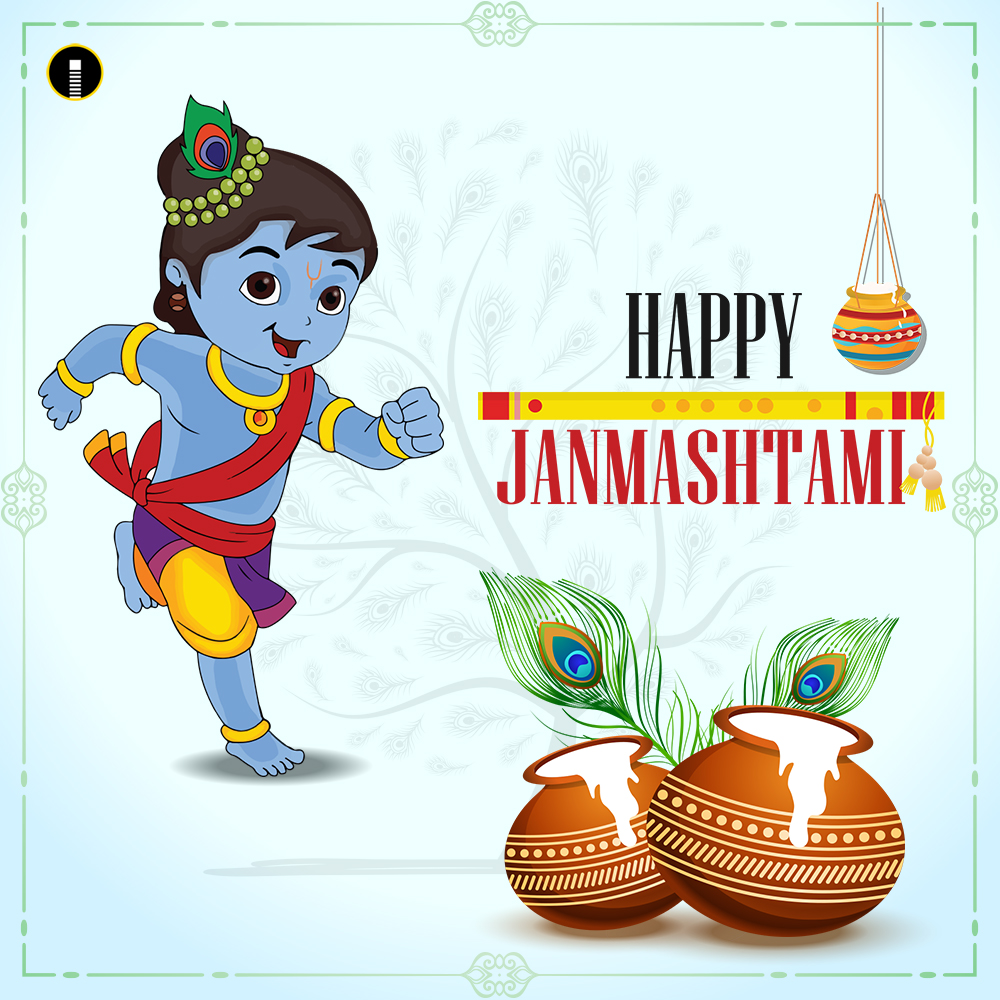 happy-janmashtami-indian-festival-celebrating-birth-of-Krishna-background-banner-greeting-cards-Vector-illustration-2019
