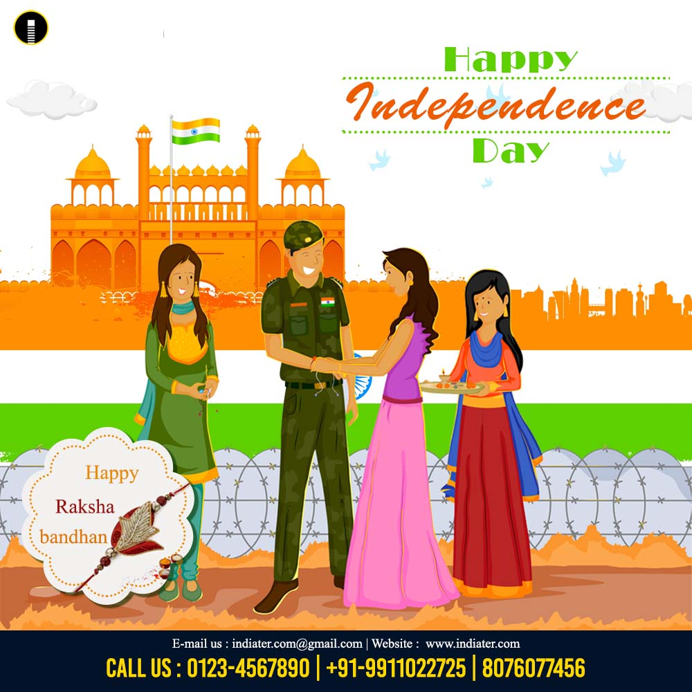 new-concept-raksha-bandhan-and-independence-day-celebration-in-india-free-download