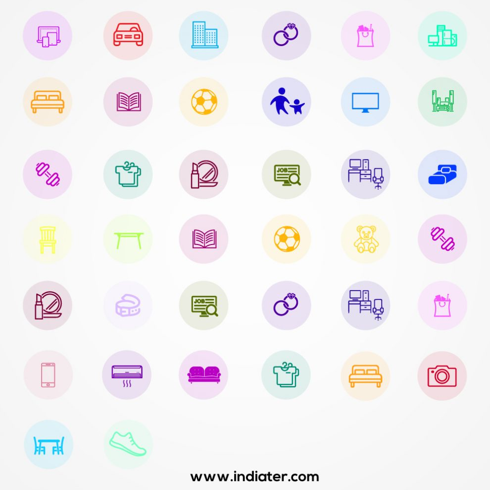 Creativity-icon-set-and-creative-mind-with-design,-portfolio-mobile-application-and-design-software.-Diploma-related-creativity-icon-for-web-UI-logo-design