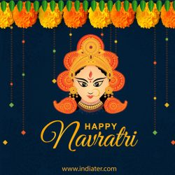 happy-navratri-creative-free-vector-download