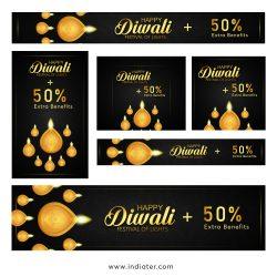 Diwali-Celebration-Super-Sale-Banners