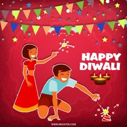 Happy Diwali Celebration Whatsapp status photo
